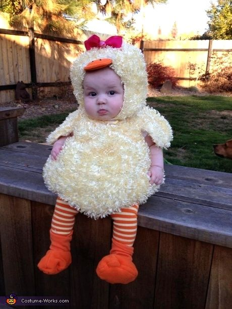 halloween baby chick outfit