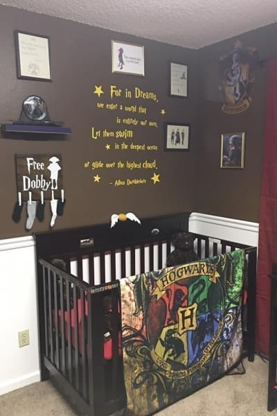 Harry Potter nursery theme